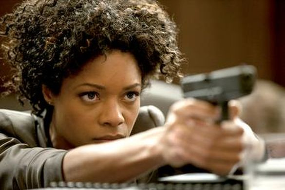 Miss Moneypenny doing fieldwork in Skyfall