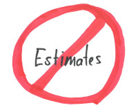 Ditch the estimates and start forecasting